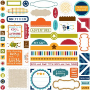 Bella Blvd Label Additions Super Stud Cardstock Stickers