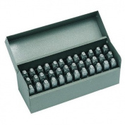 Premier Steel Hand Stamp Sets - 0.2cm premier letter & number set