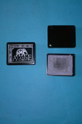 Aladine Paris Stamp Pad Metallic Silver