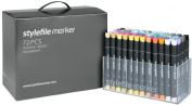 Stylefile Grafikmarker 72er Set Main