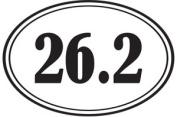 1Line Sports S262WH 26.2 Sticker in White