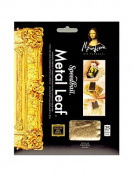 Mona Lisa Metal Leaf imitation gold pack of 25 sheets [PACK OF 2 ]
