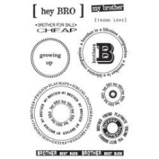 Brother Clear Unmounted Rubber Stamp Set