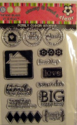 Family Clear Unmounted Rubber Stamp Set