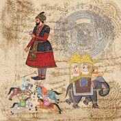 Dove of the East 25-Sheet Maharaja Paper for Scrapbooking, India Journey, 30cm by 30cm