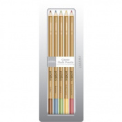 Pearlescent Earth Tone Chalk Pencils