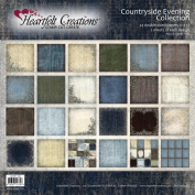 Heartfelt Creations Countryside Evening - Countryside Evening 12x12 Paper Collection