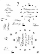 Stamping Scrapping Spellbinders Matching Clear Stamps Swirly Labels 22 Greetings