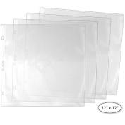 StoreSMART® - 30cm x 30cm - Archival Album Refill Pages - 25-Pack - REF12-25