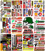 Motocross Motorcycles Dirt Bikes MotoGP Supercross Lot 12 vinyl decals stickers D1203