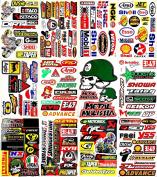 Motocross Motorcycles Dirt Bikes MotoGP Supercross Lot 12 vinyl decals stickers D1203
