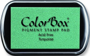 ColorBox Classic Pigment Ink Pad, Full Size, Turquoise