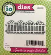 Impression Obsession io Steel Die # DIE004-J Fence US American Made
