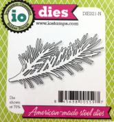 Impression Obsession io Steel Die # DIE021-N Pine Branch US American Made