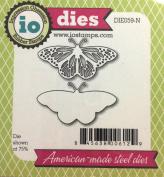 Impression Obsession io Steel Die # DIE059-N Fancy Butterfly US American Made