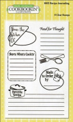 Cookbookin Recipe Journaling Clear Stamps