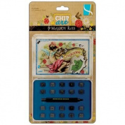 Gcd Studios Chip Art 0.3cm Alphabet Stamp and Punch Set, Chickadee, Numbers and Glyphs