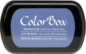 ColorBox Archival Dye Ink Full Size Inkpad, Atlantic Blue