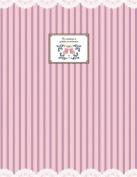 FUJICOLOR album free F-10B (BK) pink stripe [black mount] 11-20 page pink stripe 48 958