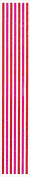 Jillson Roberts Prismatic Border Stickers, Red and Pink Stripes, 12-Sheet Count