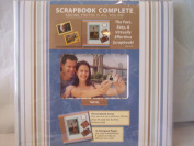 Scrapbook Complete - Travel Album - 54 Piece Set - Scrapbooking Made Simple