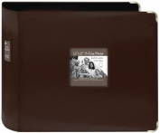 Pioneer D-Ring Leatherette Scrapbook Binder