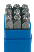 Draper 37337 0 - 9 Number Stamp Set - Number Height 0.5cm