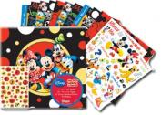 SandyLion 30cm by 30cm Disney Mickey and Friends Scrapbook Album Kit