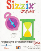Sizzix Originals Cuts 38-1110 Watch, Pocket & Hourglass