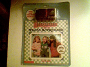 Baby-Sitters Little Sister Photo Scrapbook with Purple Camera