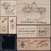 Susan Branch - Baby Rubber Stamp Kit