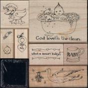 Susan Branch - Baby Rubber Stamp Kit