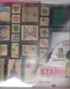 Hobby Do's Leave Your Mark Stamp Fantasy Creations 19 Stamps Kit!