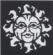 Stencil Sun Stainless Steel