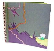 Mr. Ellie Pooh 30cm x 30cm Elephant Dung Paper Scrapbook - Dark Green