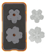 Fiskars 102400-1001 Die Cut Design Set, Mini, Flower