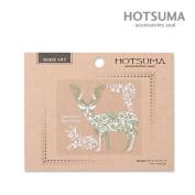 Hotsuma Makie Art Forest Series Decoration Sticker