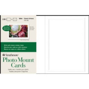 Strathmore ST105-682 Embossed Photo Mount Cards 100-Pack