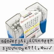 ImpressArt Ballroom Boogie Lowercase Letters Metal Stamps Set