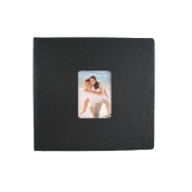 Deluxe Faux Silk Scrapbooks with Acid Free Heavyweight Paper - 2 Pack