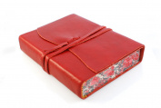 Cavallini Roma Lussa Leather Journal, 13cm x 18cm , Hand Made in Italy