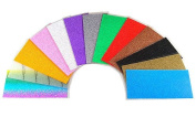 13 Piece Colour Assortment - Press-On Crystal Shimmer Sheet - 15cm x 7cm each