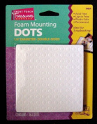 Foam Mounting Dots Double Sided 0.6cm Diameter 363 Dots Per Package