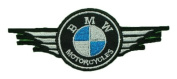 BMW Motorcycles Wing Bikes Retro Racing Motorsport BB14 Embroidered Patches