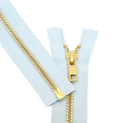 28cm [Special] Zipper ~ YKK #5 Brass Separating ~ 542 Lite Blue