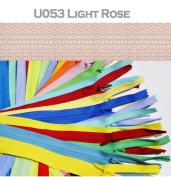 Sale 23cm (Special) YKK Conceal Invisible Zipper ~ Colour U053 Light Rose