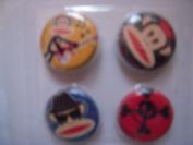 Paul Frank 4 Pins Buttons
