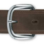 Tandy Leather Nickel Heel Bar Buckle Fits 2.5cm Belt 1574-22