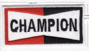 Champion Racing Car Embroidered Iron on Patch