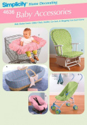 Baby Accessories - Simplicity 4636 Home Decorating Sewing Pattern , One Size